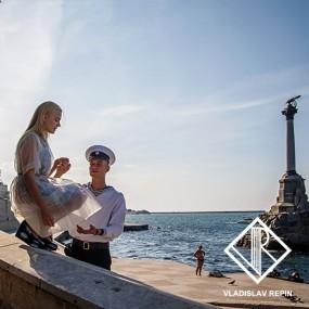 Свидание на набережной. Севастополь